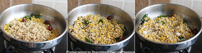 How to make Chola Sundal Recipe - Step5
