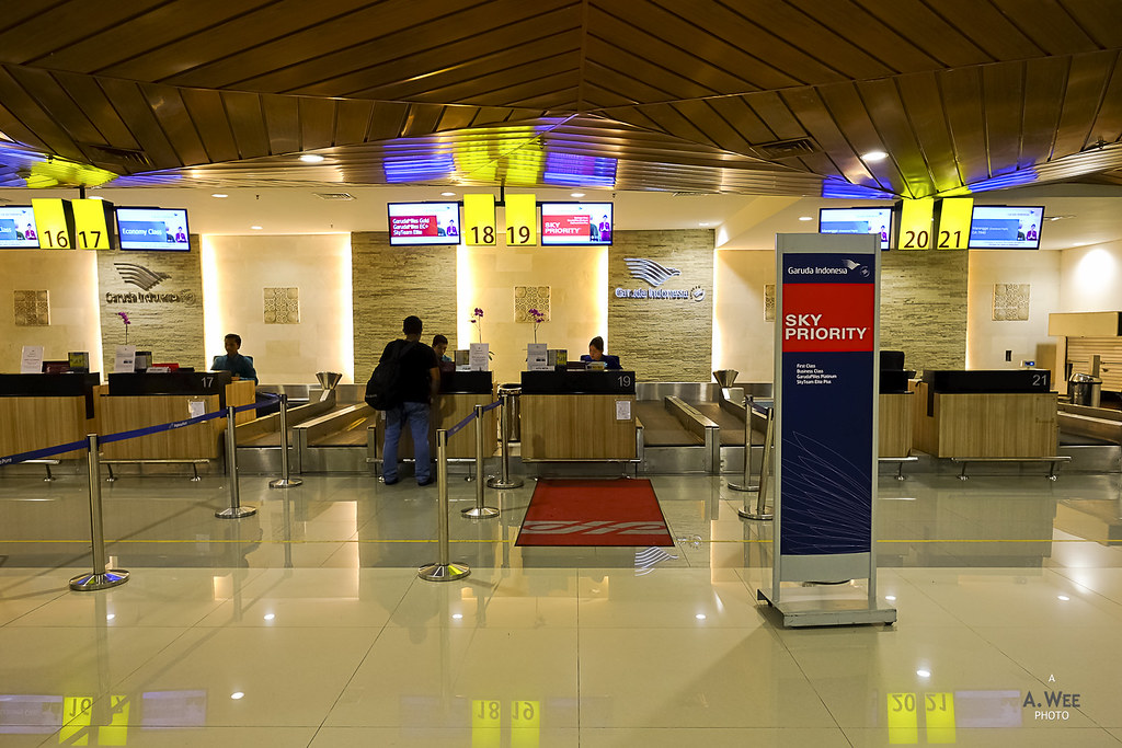 Garuda Check-in Counters