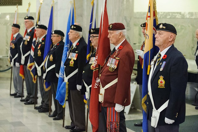 First Poppy Presentation 2016 - LT Gov Ab Oct 27