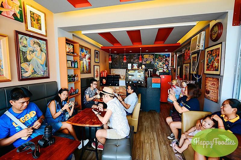 Inside the Art Capital Cafe