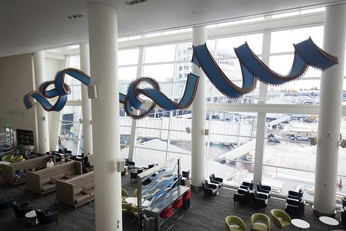The Delta Sky Club: Seattle