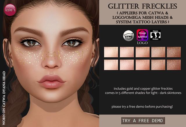 Glitter Freckles (for FLF)