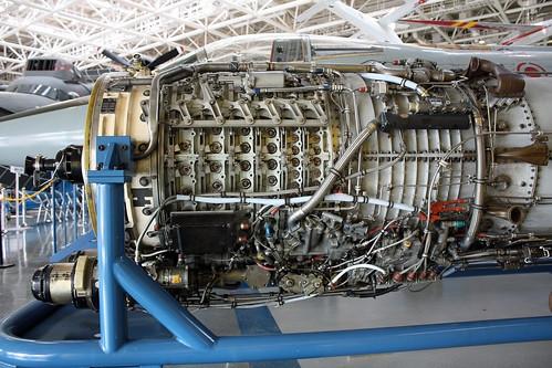 F-104J戦闘機  エンジン IMG_0438_2