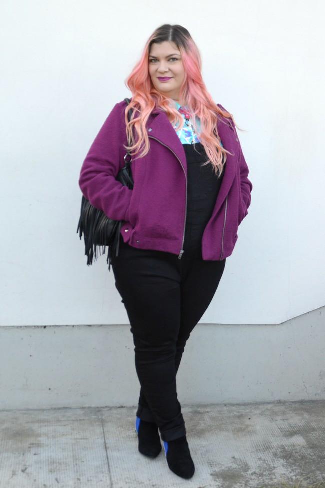 Outfit plus size salopette  (10)