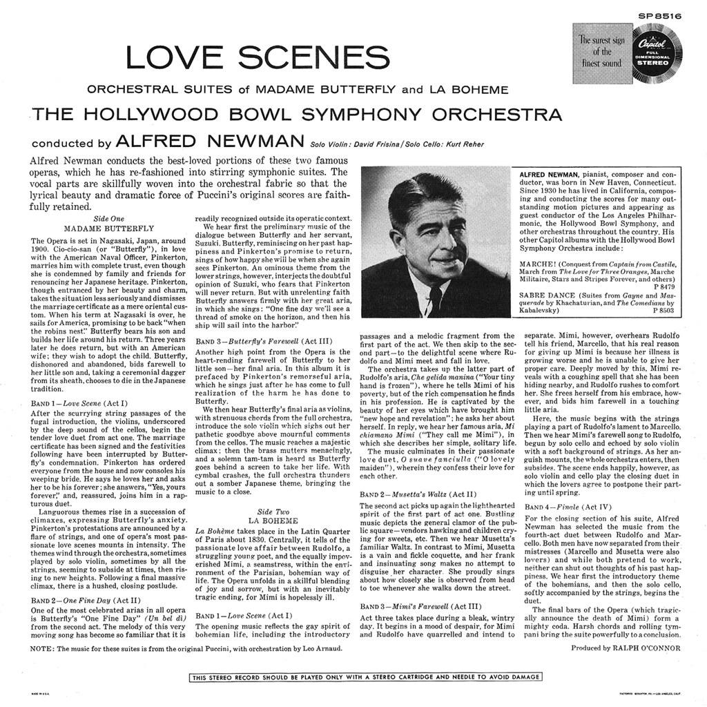 Alfred Newman - Love Scenes