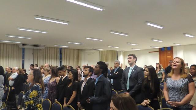 Cerimônia de posse professor Clóvis Castro