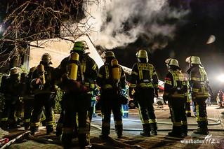 Dachstuhlbrand Nordenstadt 05.12.16
