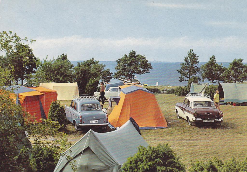 Eriksöre camp Öland Sweden 60s