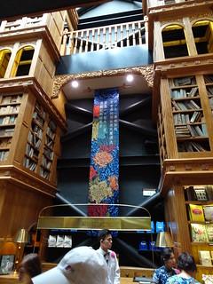 很高的書架