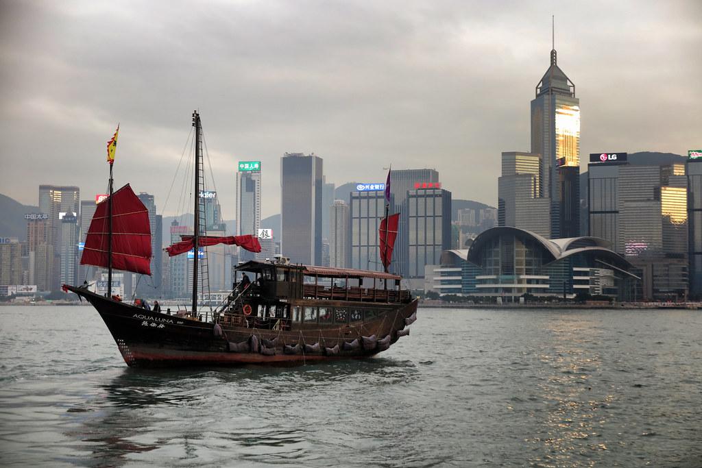 A Hong Kong Junk