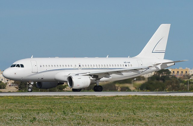 Alpha Star Aviation A319-112 HZ-A4