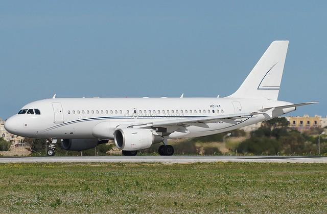 Alpha Star Aviation A319-112 HZ-A4