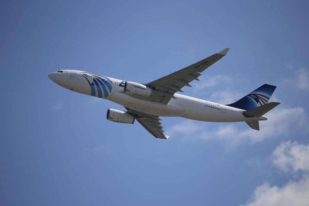 EgyptAir Airbus A330-200 (reg. SU-GCG)