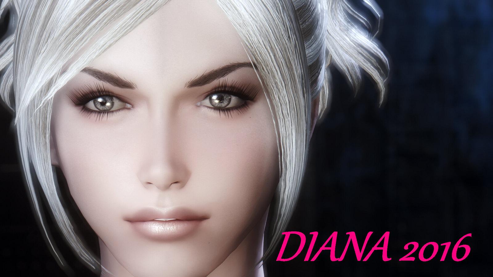 Diana Ece And Racemenu Preset At Skyrim Nexus Mods And Community