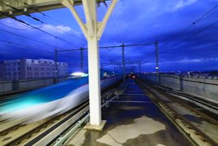 新青森駅 はやて91号入線