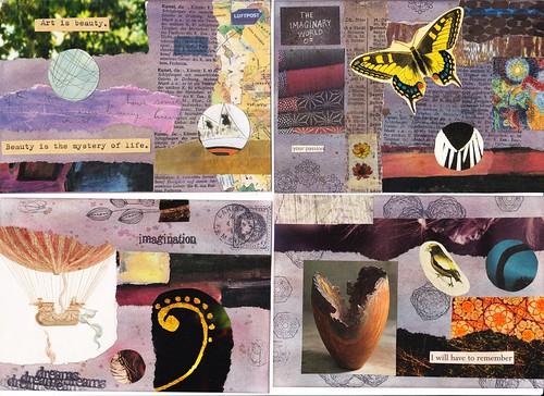 Postcard Swap 4 of mine