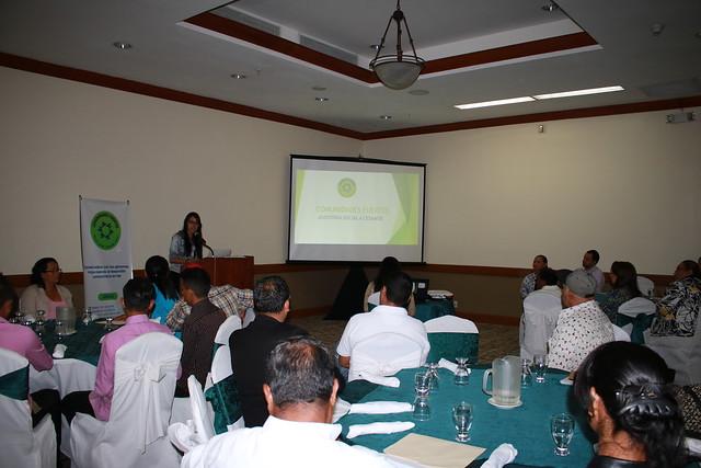 Presentación de informes de veeduría Comunidades Fuertes