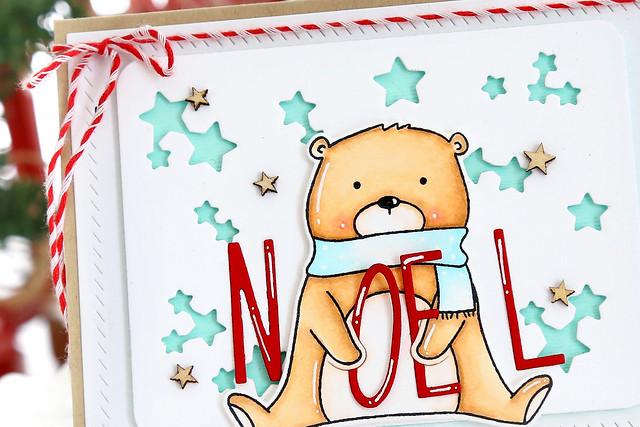 beary merry NOEL.