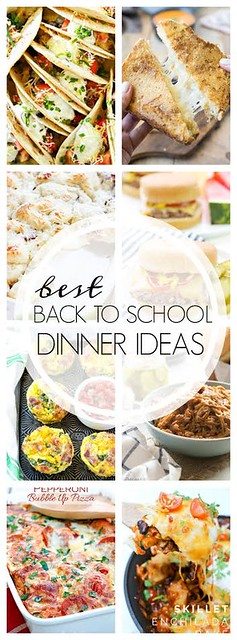 The BEST Back to School Dinner Ideas!!