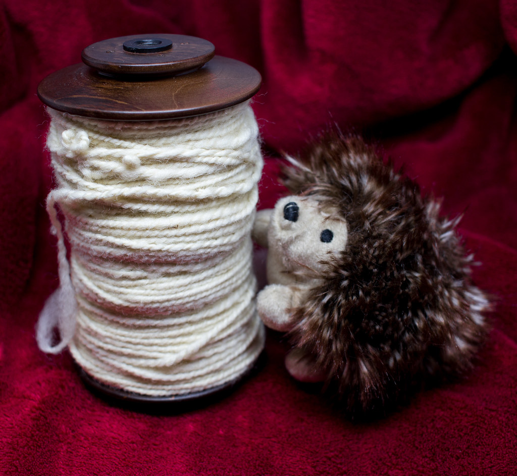 Second handspun yarn