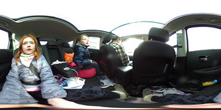 On the road with the Ricoh 360