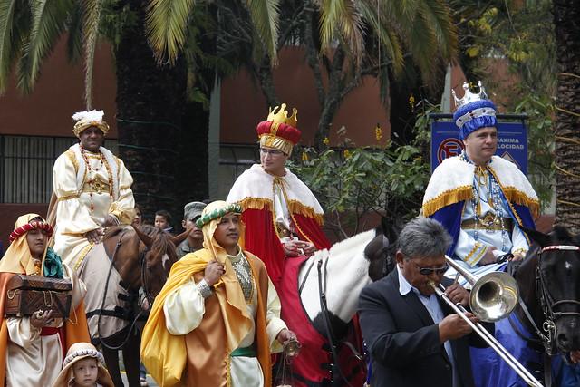 Celebración del día de los Santos Reyes Magos