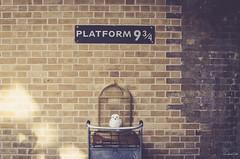 Платформа 9 ¾ на вокзале Кингс-Кросс. Kings Cross