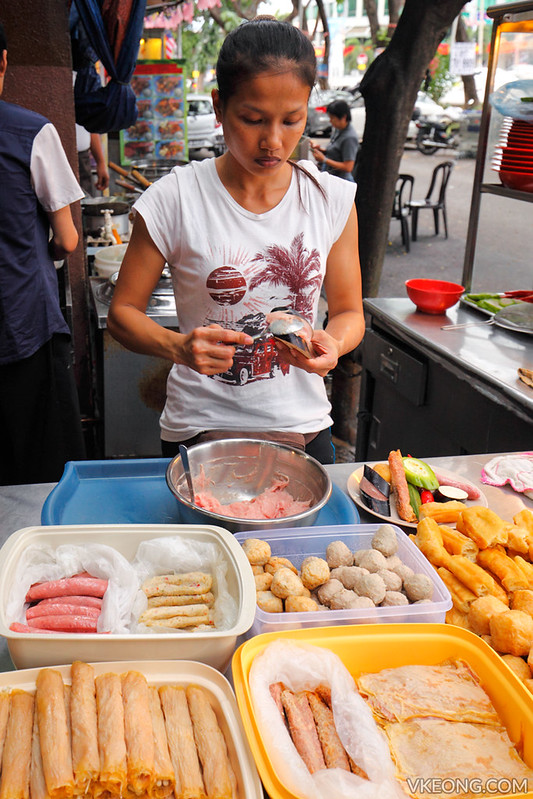 Stuffing Meat Paste Yong Tau Fu