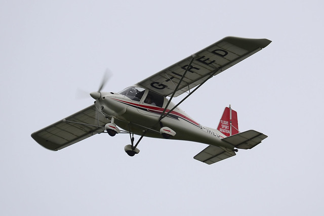 G-IRED Ikarus C42 FB100