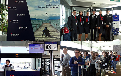 LATAM vuelo inaugural Puerto Natales 2 (RD)