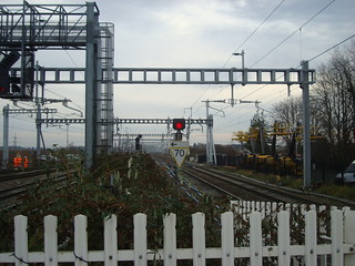 Electrification installed at Didcot Parkway