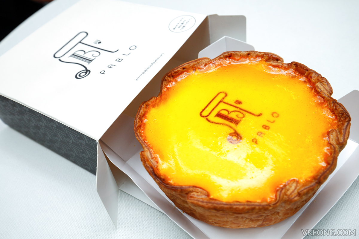 Pablo Cheese Tart with Box