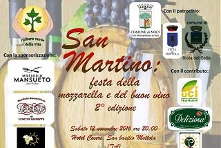 Noci. Festa di San Martino front