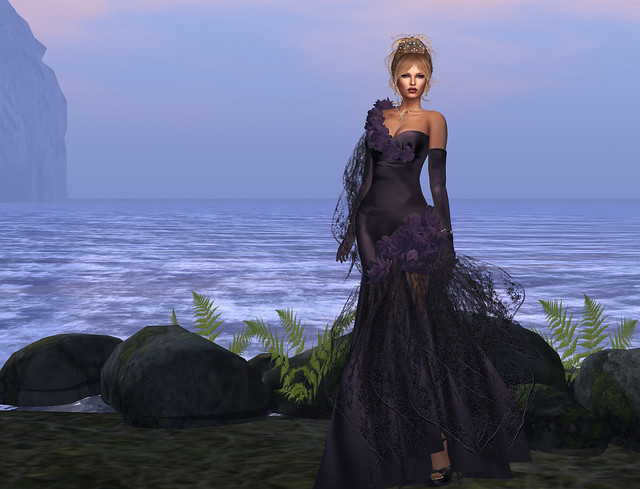 Olga gown, Sugilite, Azul
