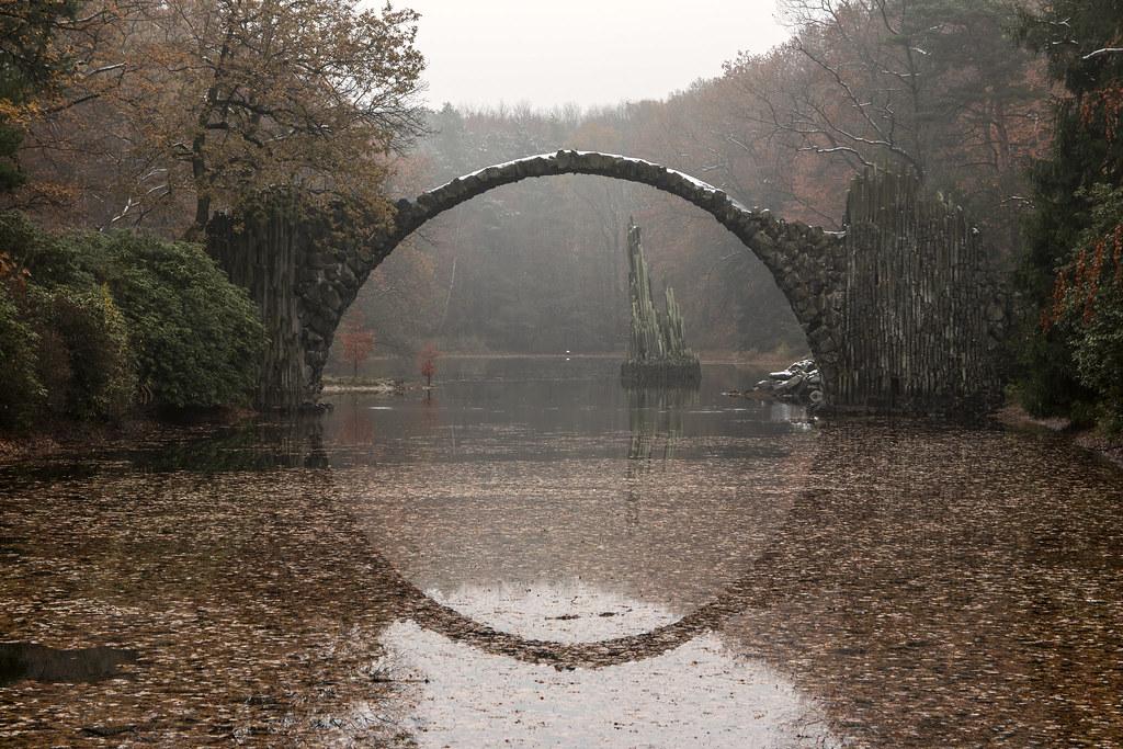 Diabelski Most i Park Rododendronów -