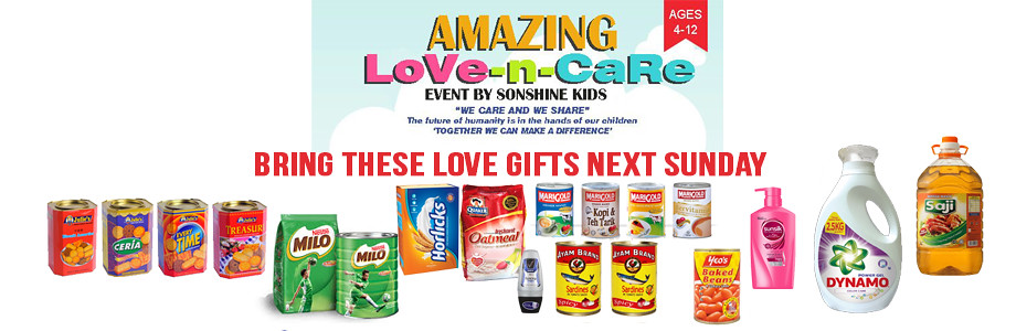 love and care event web