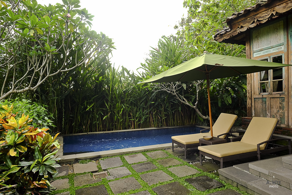 Private pool terrace