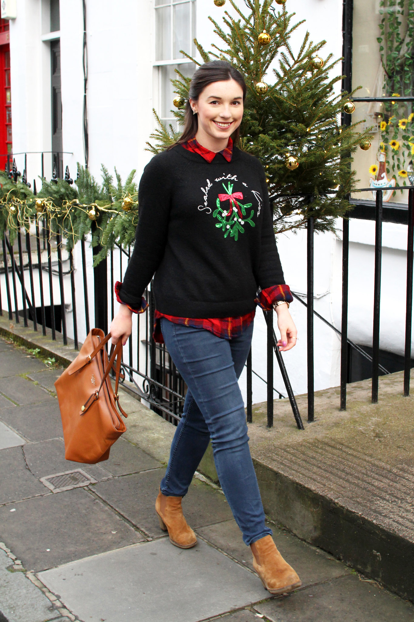 Christmas jumper fashion UK Edinburgh blogger The Little Things