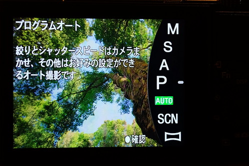 SONY Cyber-shot DSC-RX100M5 RX100 V mode menu 09