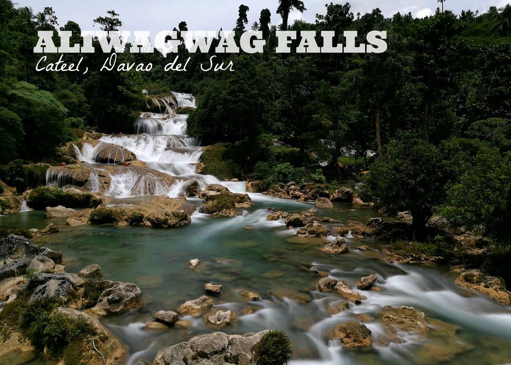 Aliwagwag Falls in Cateel, Davao Oriental