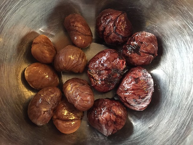 Two kinds of chestnuts