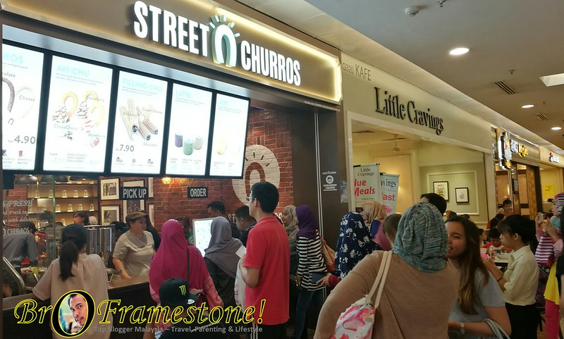 Cawangan Ke-2 Street Churros 1Utama Shopping Centre