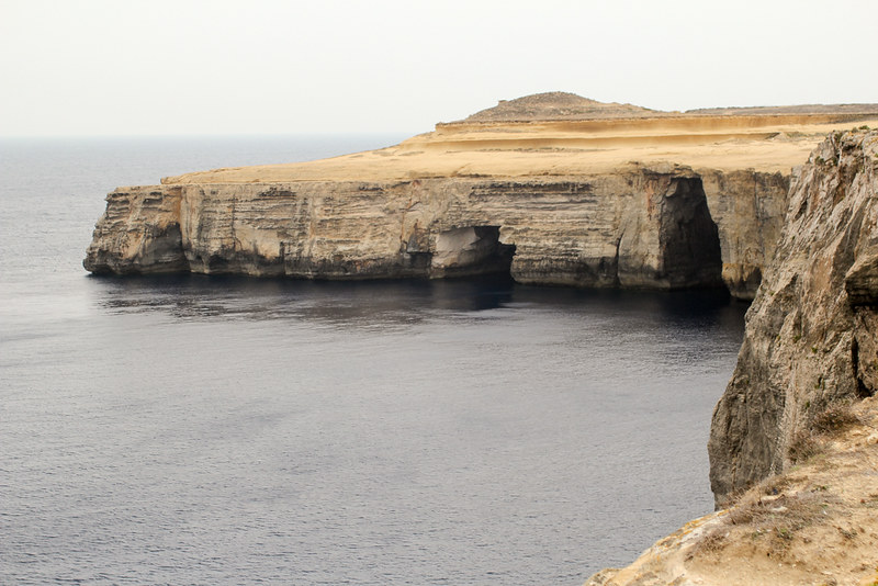 The World In My Pocket - Trip to Gozo - View over the cliffs of Gozo