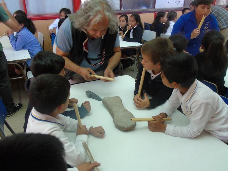 Mediación Artística Escuela Canela Baja
