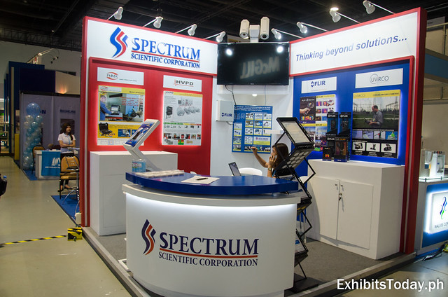 Spectrum Scientific Corp. Exhibit Booth