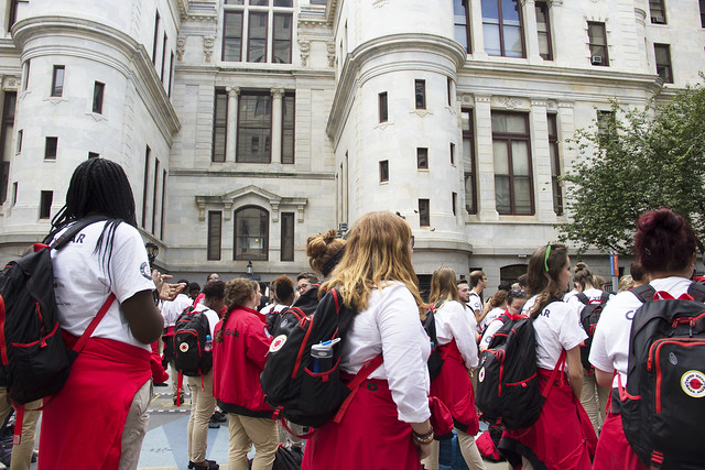 City Year Philadelphia: AmeriCorps Opening Day 2016