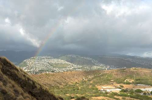 Diamond Head State Monument - Rainbow