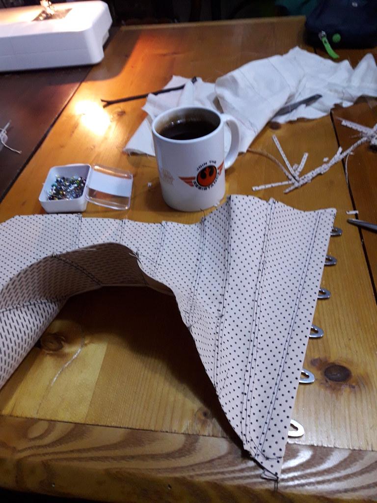 Fabrication de corset