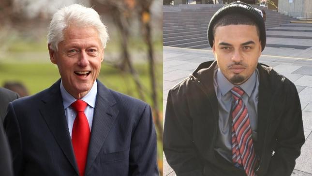Билл Клинтон и Дэнни Уильямс