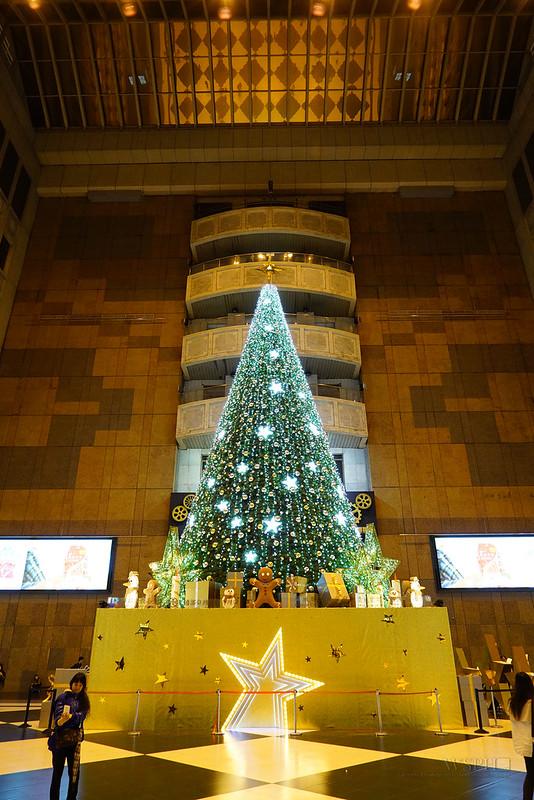 微風台北車站 聖誕樹